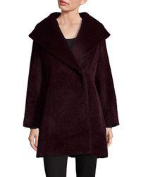 Trina Turk | Multicolor Long Sleeve Wool Blend Coat | Lyst