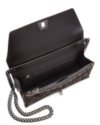 Akris - Black Leather Top Handle Bag - Lyst