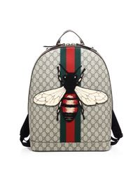 Gucci | Natural Gg Backpack for Men | Lyst