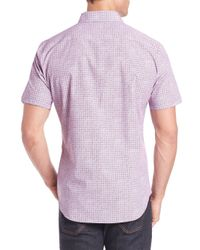 Zachary Prell - Pink Manning Floral Sport Shirt for Men - Lyst
