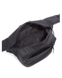 Y-3 - Black Solid Fanny Bag for Men - Lyst
