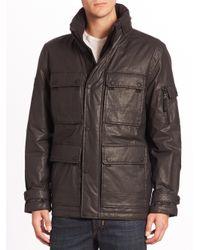 Sam. | Blue Egyptian Cotton Cargo Jacket for Men | Lyst
