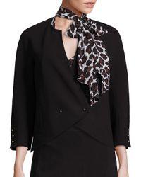 Trina Turk | Black Karyl Cutaway Jacket | Lyst