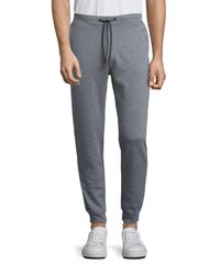 Saks Fifth Avenue | Gray Solid Drawstring Sweatpants for Men | Lyst