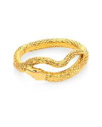 Aurelie Bidermann | Metallic Tao Snake Bracelet | Lyst