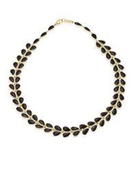 Ippolita | Metallic Polished Rock Candy Black Onyx & 18k Yellow Gold Necklace | Lyst
