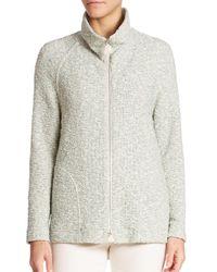 Akris | Multicolor Cotton Boucle Heaven Zip-front Jacket | Lyst