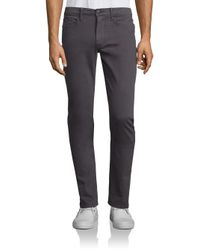 Joe's Jeans | Gray Brixton Slim Fit Jeans for Men | Lyst