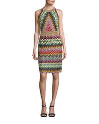 Missoni   Multicolor Multi-colored Halter Dress   Lyst