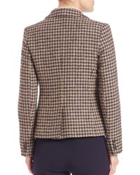 Weekend by Maxmara - Multicolor Salita Plaid Blazer - Lyst