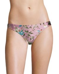 Zimmermann - Multicolor Tropical Skinny Bikini Bottom - Lyst