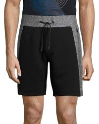 Madison Supply   Multicolor Ribbed Mixed Media Shorts for Men   Lyst