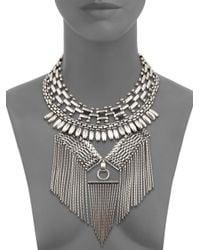 Ralph Lauren Collection   Blue Western Chain Necklace   Lyst
