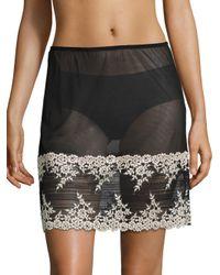 Wacoal | Black Embrace Lace Half Slip | Lyst