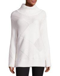 Rag & Bone   White Bry Turtleneck Sweater   Lyst