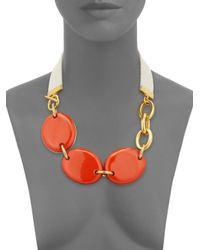 Marni | Orange Convertible Statement Necklace | Lyst