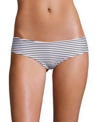 Mikoh Swimwear | Multicolor Bondi Striped Medium Coverage Bottom | Lyst