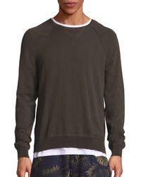 VINCE   Multicolor Solid Raglan Sweatshirt for Men   Lyst