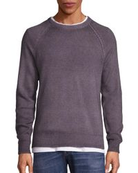 VINCE | Gray Wool & Cashmere Blend Sweater for Men | Lyst