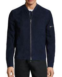 John Varvatos | Multicolor Short Leather Jacket for Men | Lyst
