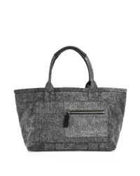 Marc Jacobs | Gray Customizable Denim East-west Tote | Lyst