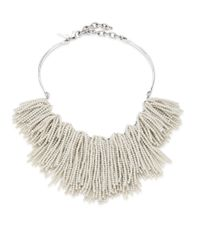 Lele Sadoughi | Natural Weeping Willow Beaded Strands Necklace | Lyst