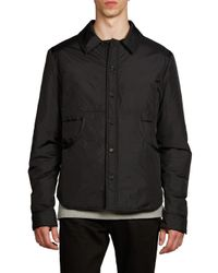 Acne   Black Malima Solid Jacket for Men   Lyst