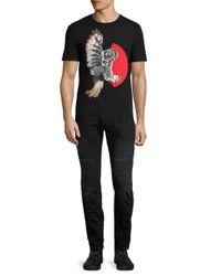 Neil Barrett - Gray Skinny-fit Midrise Jeans for Men - Lyst