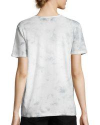 PAIGE | Blue Rosie Hw X Cassandra Tie-dye Cotton Tee | Lyst