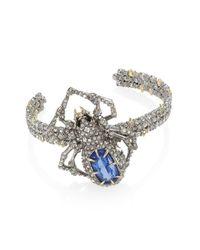 Alexis Bittar | Multicolor Elements Crystal-encrusted Spider Cuff | Lyst