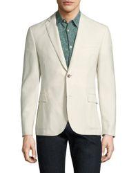 J.Lindeberg   White Hopper Wool Jacket for Men   Lyst