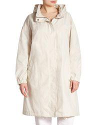 Eileen Fisher | Multicolor Organic Cotton Blend Coat | Lyst
