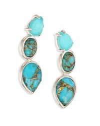 Ippolita | Multicolor 925 Rock Candy Turquoise Drop Earrings | Lyst