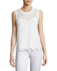 Generation Love | White Nia Lace Top | Lyst