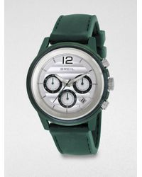 Breil | Green Stainless Steel Chronograph Watch/blue for Men | Lyst