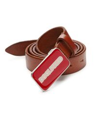 DSquared² - Textured Leather Belt for Men - Lyst