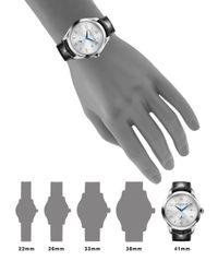 Baume & Mercier - Metallic Clifton 10052 Stainless Steel & Alligator Strap Watch for Men - Lyst