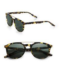 Barton Perreira | Black Rainey Metal & Acetate Sunglasses | Lyst