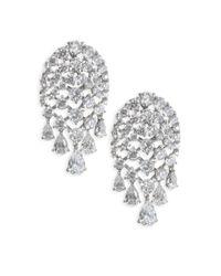 Adriana Orsini | Metallic Holidayear Button Earrings | Lyst