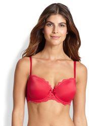 Chantelle - Red Rive Gauche T-shirt Bra - Lyst