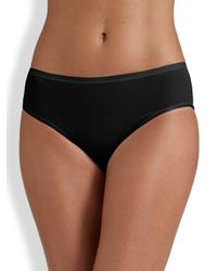 Hanro - Black Smooth Touch Full-coverage Brief - Lyst