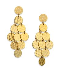 Stephanie Kantis - Metallic Shimmer Chandelier Earrings - Lyst