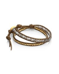 Chan Luu | Multicolor Mystic Smokey Mix Double-wrap Bracelet | Lyst