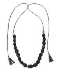 Chan Luu - Blue Labradorite Adjustable Necklace - Lyst