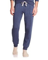 2xist - Blue Cotton-blend Sweatpants for Men - Lyst