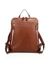 Uri Minkoff - Brown Samsen Backpack for Men - Lyst