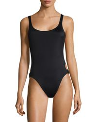 Solid & Striped | Black Jennifer One-piece Swimsuit | Lyst