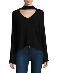 Feel The Piece - Black Audra Choker Top - Lyst
