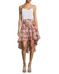 Joie - Multicolor Clarke Baja Batik Skirt - Lyst