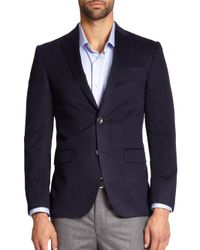 Saks Fifth Avenue - Gray Cashmere Blazer for Men - Lyst